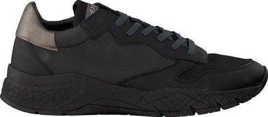 Crime London Heren Lage sneakers Fuse - Zwart - Maat 42