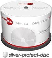 Primeon 2761224 lege dvd 4,7 GB DVD+R 50 stuk(s)