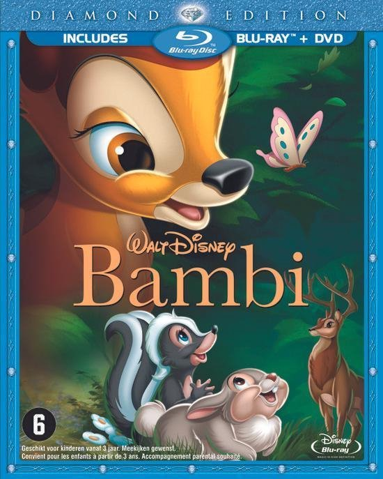 Cover van de film 'Bambi'