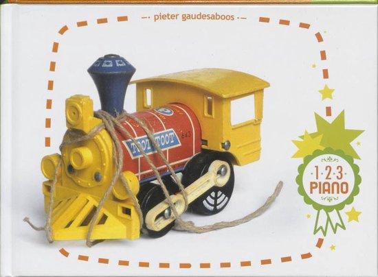 Cover van het boek '1 2 3 Piano' van Pieter Gaudesaboos