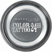 Maybelline Eyestudio Color Tattoo - 55 Immortal Charcoal - Grijs - Oogschaduw