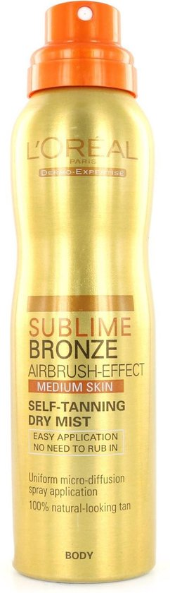 L'Oréal Sublime Bronze Self-Tanning Dry Mist - Medium Skin