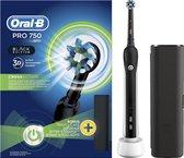 Oral-B PRO 750 Black CrossAction - Elektrische Tandenborstel