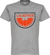 LA Aztecs T-Shirt - Grijs - XXL