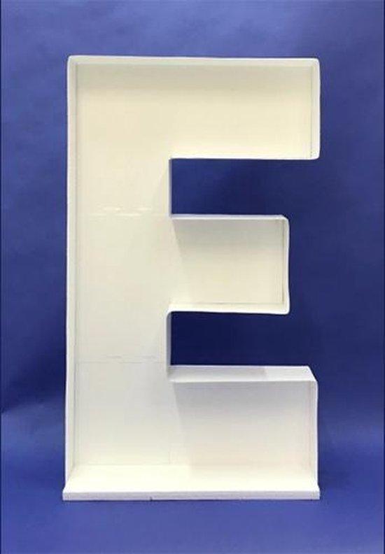 Ballon Mozaiek frame Letter E (100cm)