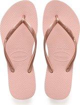Havaianas Slim Meisjes Slippers - Ballet Rose - Maat 33/34