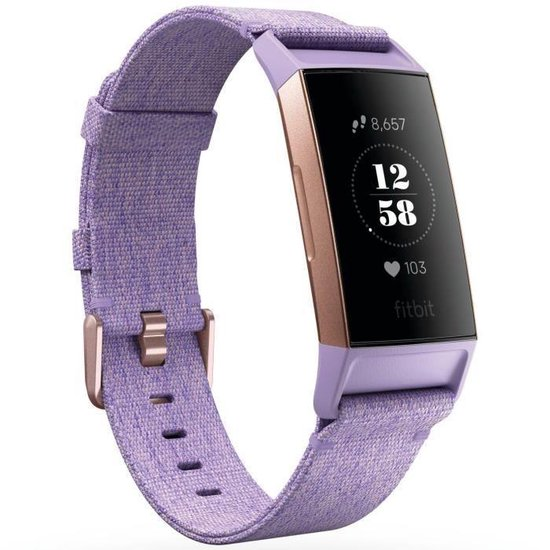 Fitbit Charge 3 Special Edition - Activity tracker - Lavender
