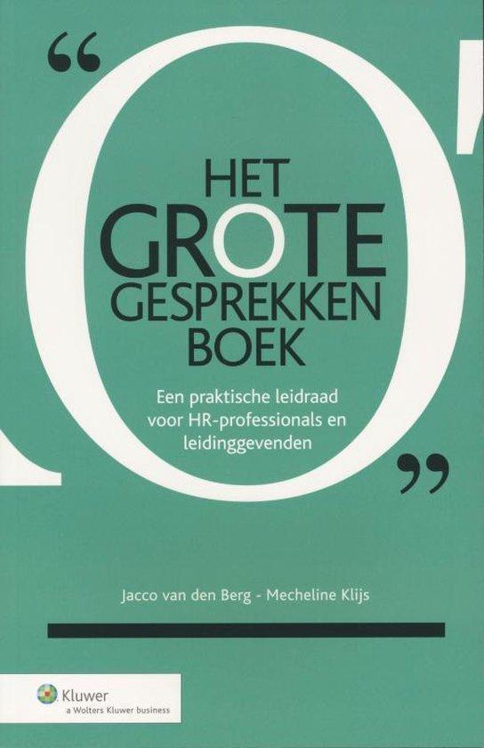 Cover van het boek 'Het GROTE Gesprekkenboek'