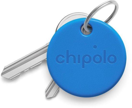 Chipolo One - Bluetooth GPS Tracker - Keyfinder Sleutelvinder - 1-Pack - Blauw