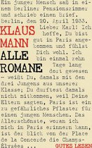 Klaus Mann - Alle Romane