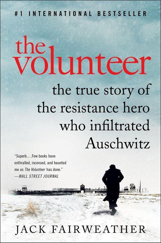 Boek cover The Volunteer van Jack Fairweather (Onbekend)