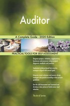 Auditor A Complete Guide - 2020 Edition