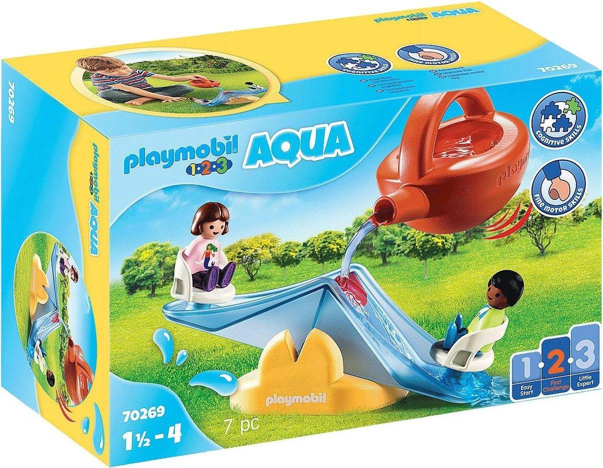 PLAYMOBIL 1.2.3 AQUA Waterwip met gieter - 70269