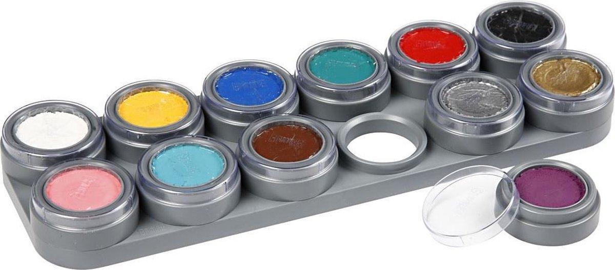 Grimas Water Make-Up - 12 Palette A