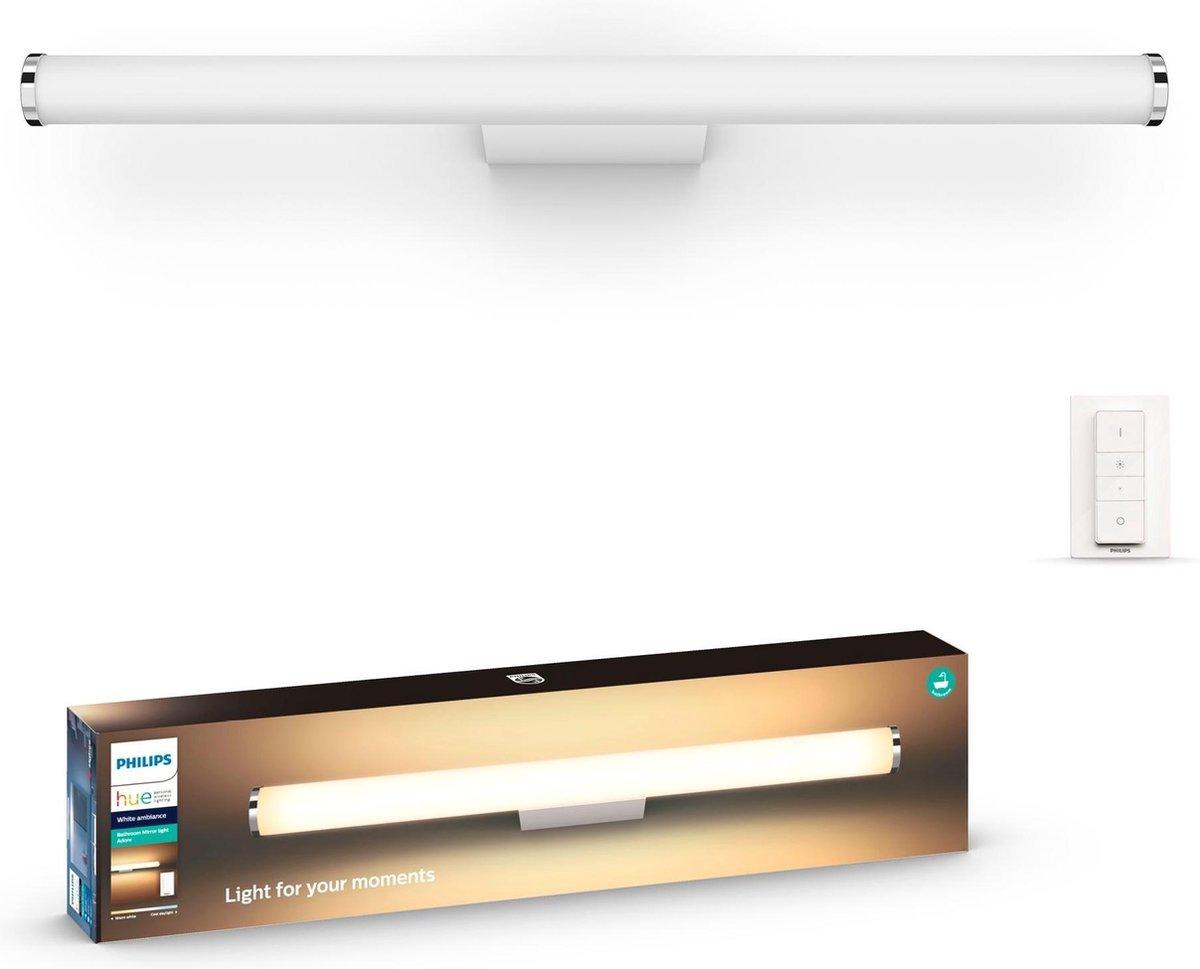 Philips Hue Adore badkamerwandlamp - White Ambiance - Wit - 67,1cm