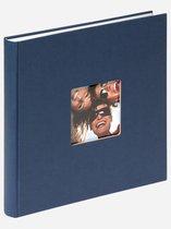 Walther Design FA205-L Fun - Fotoalbum - 25 x 26 cm - Donkerblauw - 40 pagina's