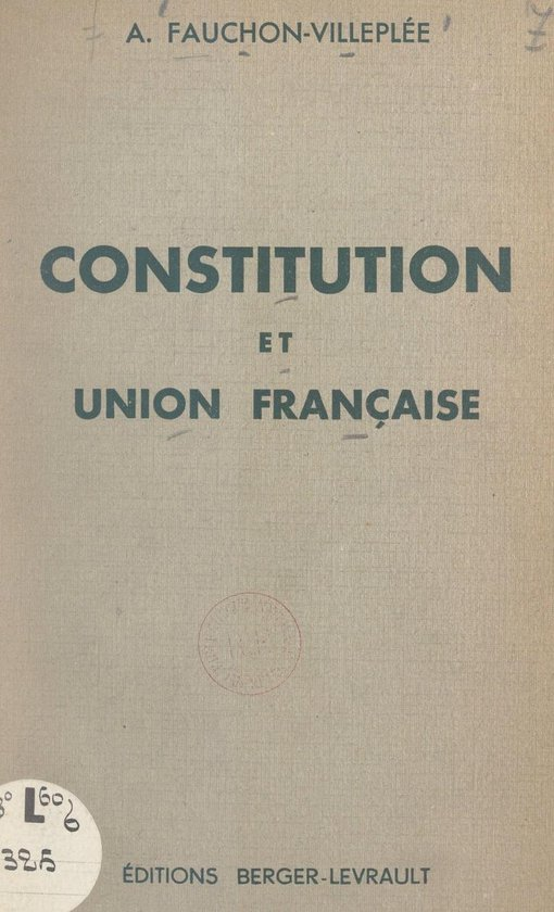 Constitution et Union française