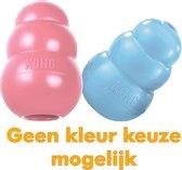 Kong Puppy - Kauwbot Hondenspeelgoed Small - Kauwbot - 85mm x 42mm - Groen/Wit
