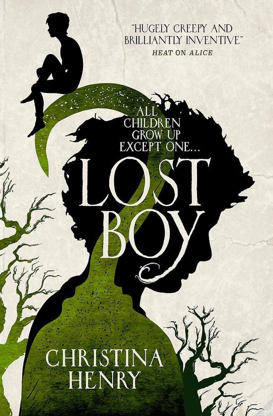 Boek cover Lost Boy van Christina Henry (Paperback)