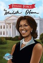 Boekomslag van 'Female Force: Michelle Obama'