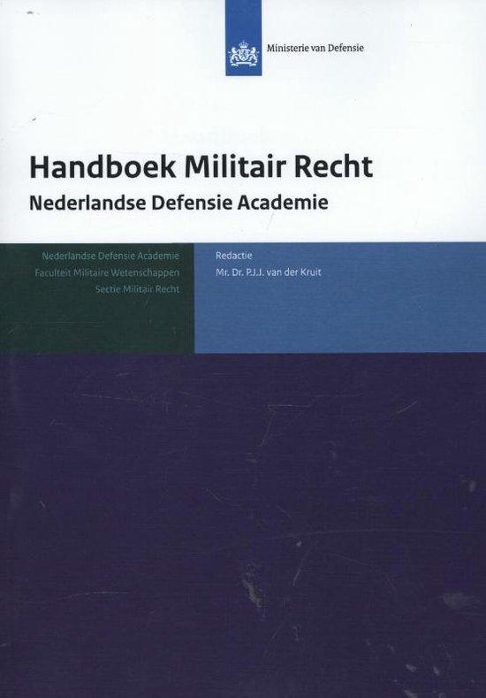 Handboek militair recht - none |