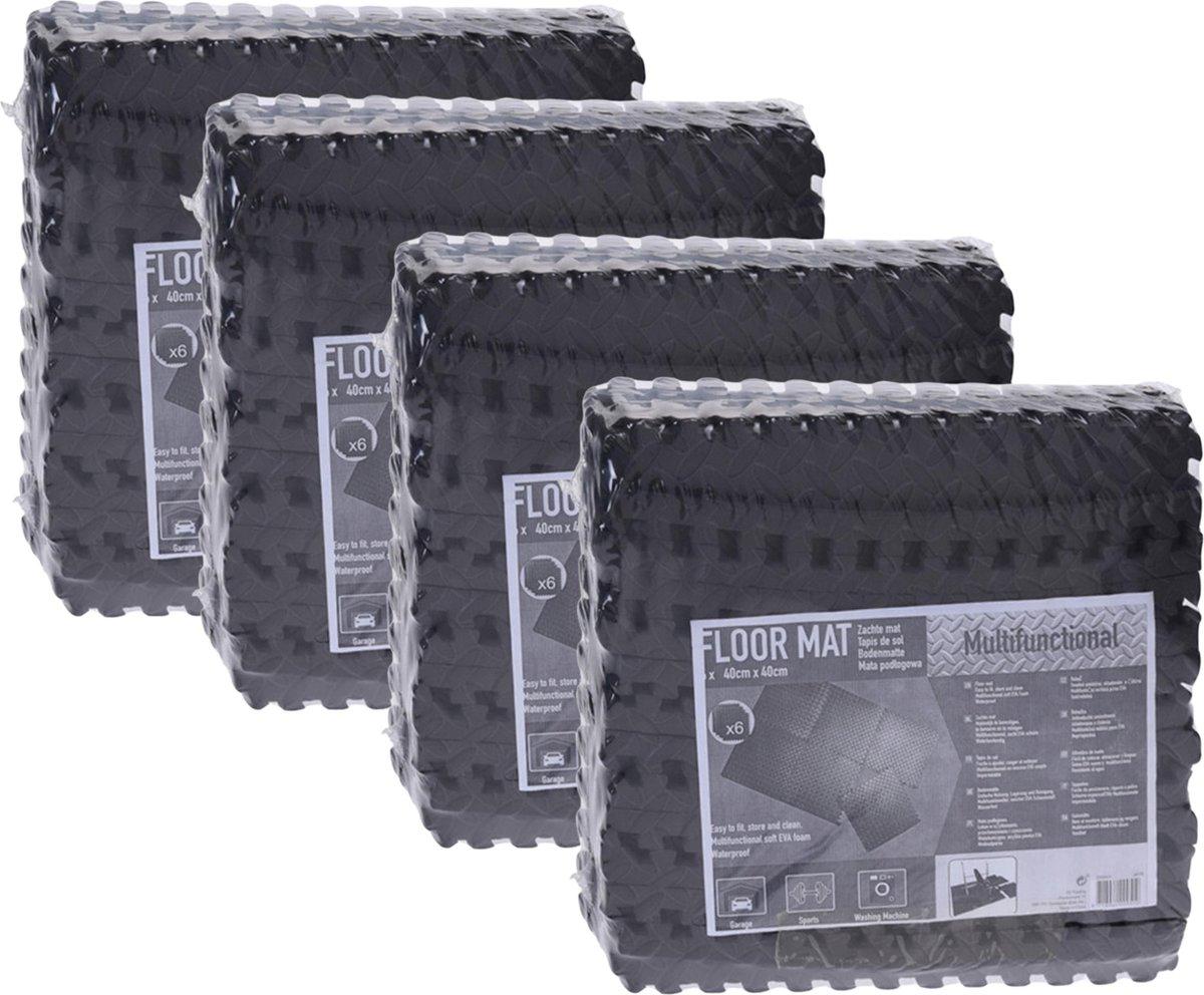 Zwembadtegels - Voordeelverpakking - 4 verpakkingen van 6 tegels - 40x40 cm