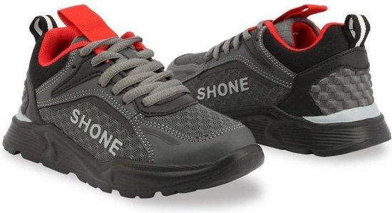Shone - Sportschoenen - Kinderen - 903-001 - gray