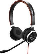 Jabra Evolve 40 MS Stereo Headset Hoofdband 3,5mm-connector Zwart