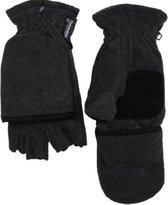Handschoenen halve vingers/want jeugd en dames winter - magneetsluiting