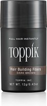 Haargroei vezels Toppik Hair Building Fibers - 12 gram - Donkerbruin