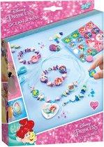 Disney Princess Ocean Jewels -  Zeesieraden maken met schelpkraaltjes en prinsessen - Totum knurselset
