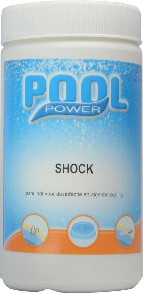 Pool Power Shock zwembad desinfectiemiddel - 1 kg