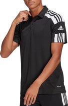 adidas - Squadra 21 Polo - Zwart - Heren - maat  XL