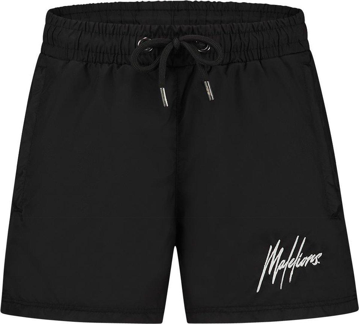 Malelions Junior Francisco Swimshort - Black/Glow In The Dark - 14   164