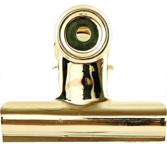 House Doctor Metalen klem XL goud 8,5 centimeter