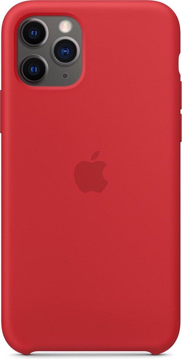 Apple Siliconen Hoesje voor iPhone 11 Pro - Rood