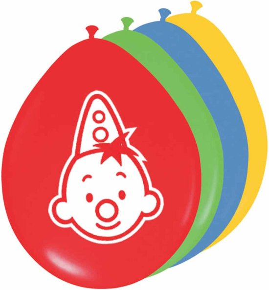 Ballonnen Bumba: 8 stuks (07947)