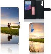 Huawei Nova 5T   Honor 20 Telefoonhoesje met Pasjes Koeien