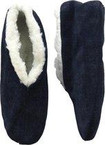 Bernardino® - Spaanse sloffen - donkerblauw - Unisex - Maat 41