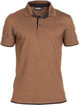 Dassy Profesional Workwear Polo - Orbital Leembruin/antracietgrijs - Mt Xl