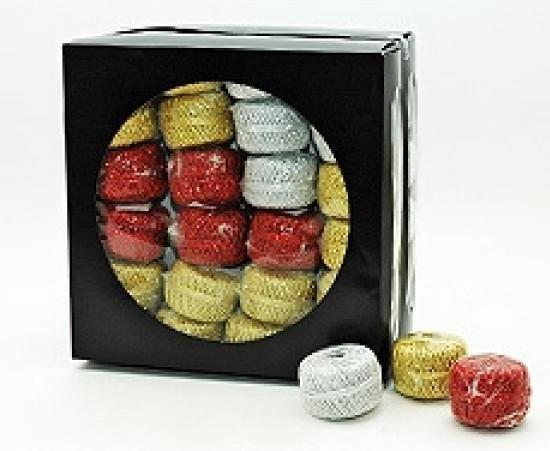 1x Rode glitter touw 20 meter hobby/cadeaulint - Cadeau verpakken/inpakken