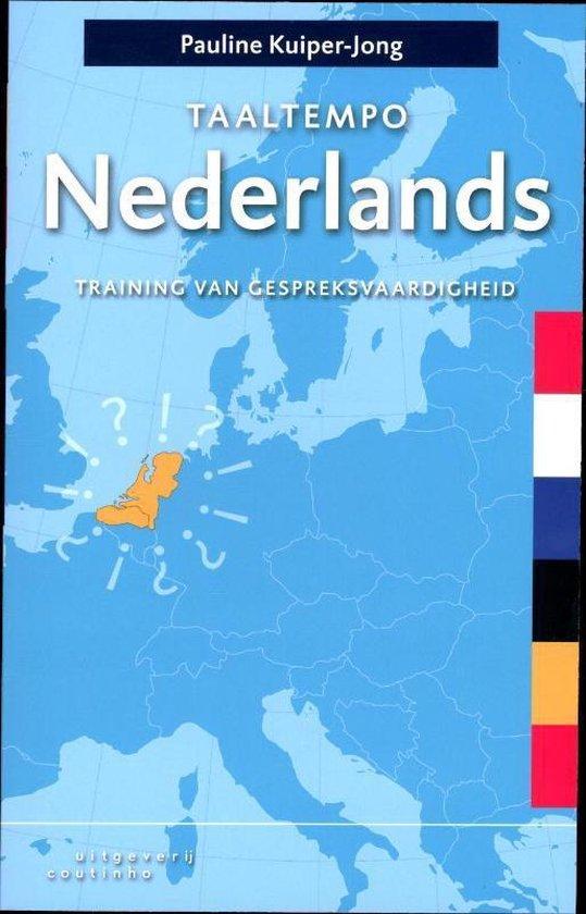 Boek cover Taaltempo Nederlands van Pauline Kuiper-Jong (Paperback)