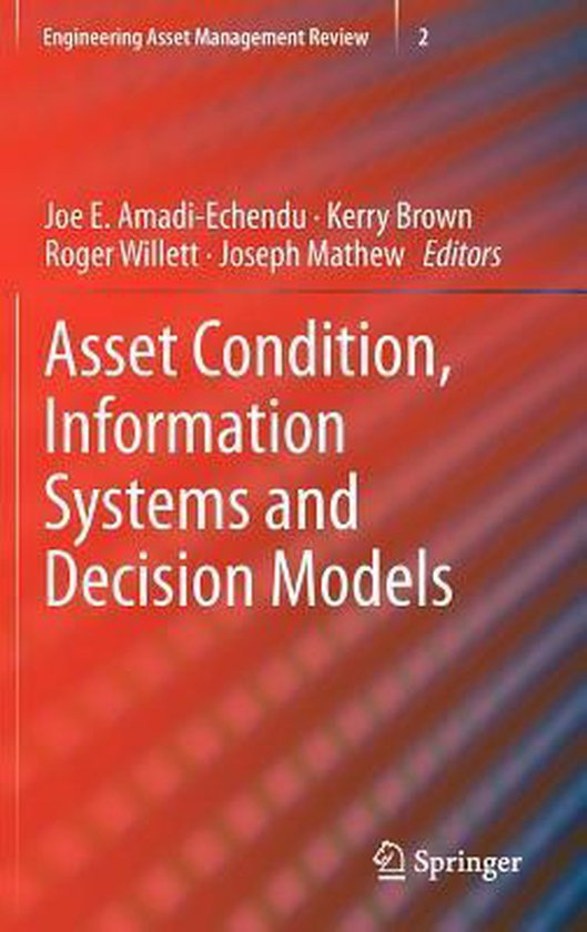 Boek cover Asset Condition, Information Systems and Decision Models van  (Hardcover)
