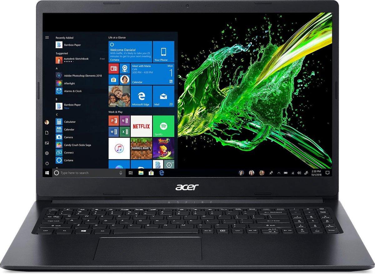 Acer Aspire 3 A315-34-C5UA Notebook Zwart 39,6 cm (15.6'') 1920 x 1080 Pixels Intel® Celeron® 4 GB DDR4-SDRAM 256 GB SSD Wi-Fi 5 (802.11ac) Windows 10 Home kopen