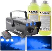 Rookmachine - BeamZ S700LED met ijs effect en ruim 2L rookvloeistof