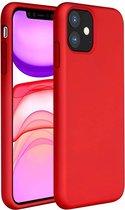 ShieldCase Silicone case iPhone 11 - rood