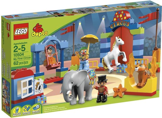LEGO Duplo Ville Groot Circus - 10504