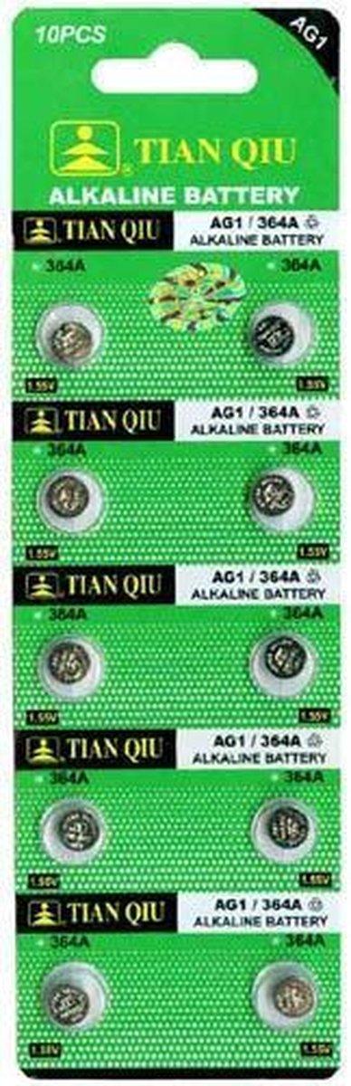 AG1 Horloge Batterijen - 10 stuks - T&E