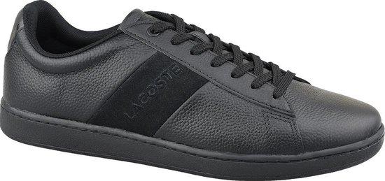 Lacoste Carnaby Evo Heren Sneakers Zwart Maat 47