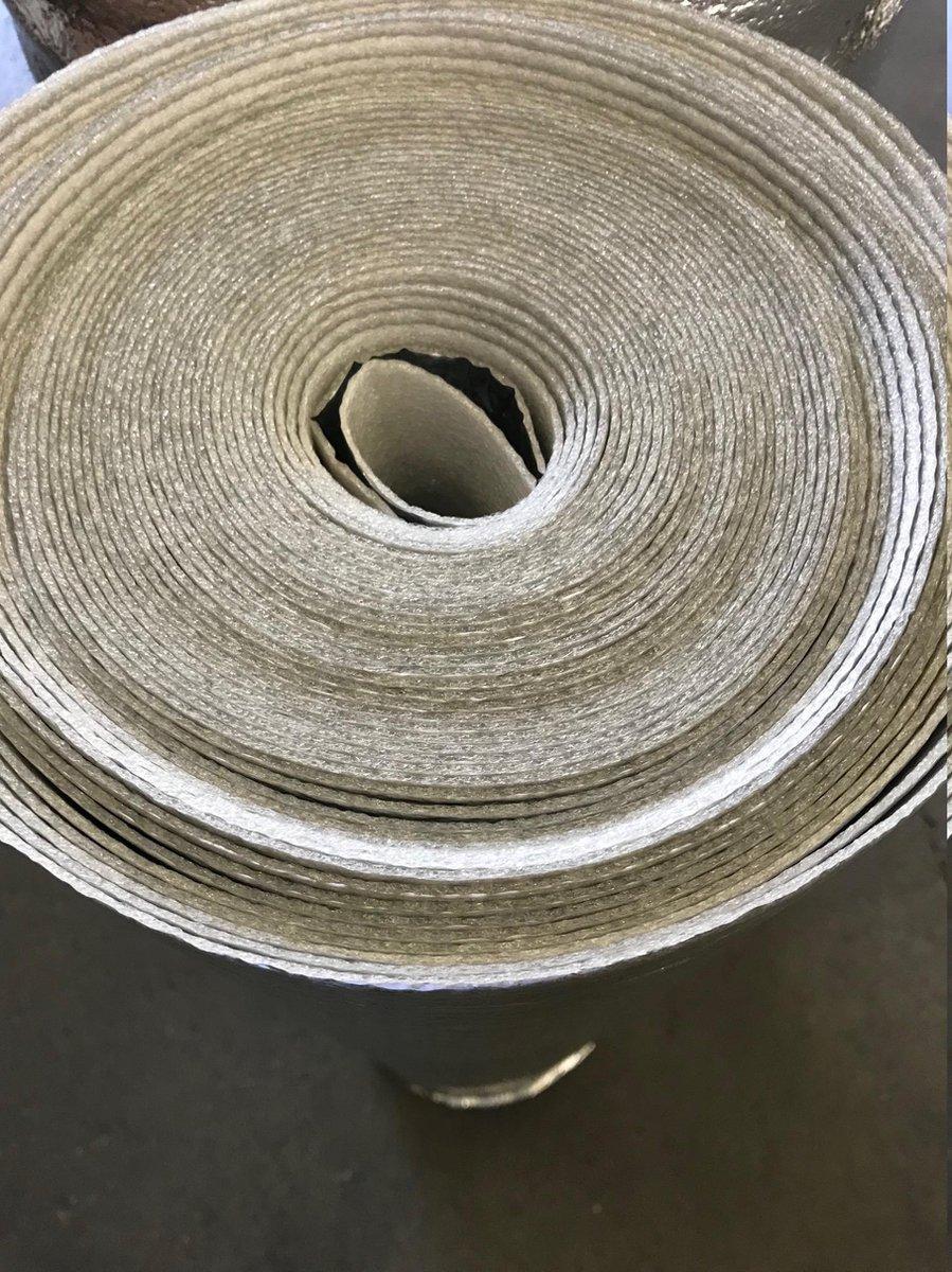 Alufoam invoy 2mm Ondervloer  voor Laminaat en Parket rol van 30m (2x15m )